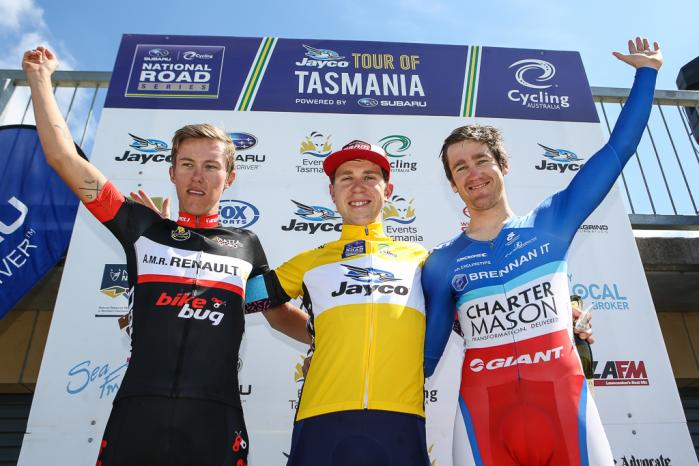 3rd on GC, the team's first overall NRS podium